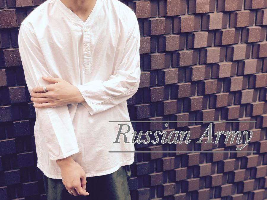 「ヴィンテージアイテムのRussian Army 」