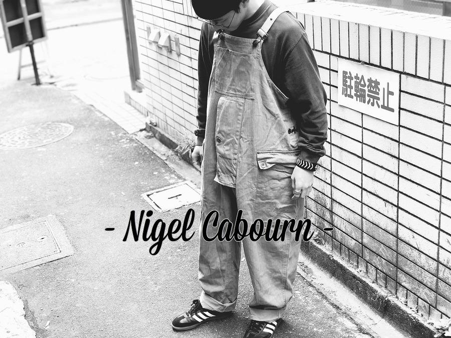 「ワークブランドのNIGEL CABOURN 」