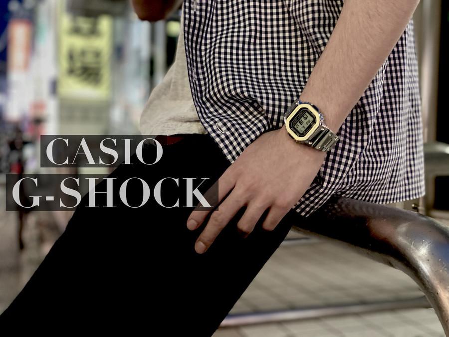 「ビジネスアイテムのCASIO G-SHOCK 」