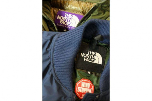 THE NORTH FACEのPURPLE LABEL