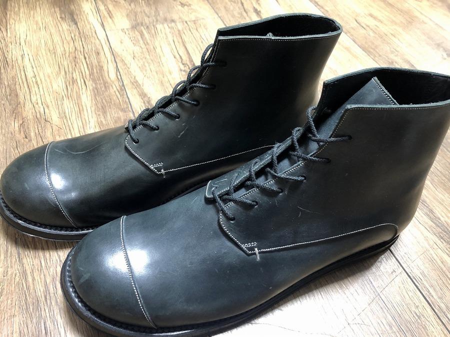 foot the coacher/フットザコーチャーよりレザーブーツ入荷。