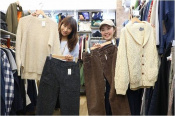 洋服、古着好きな方!大宮、与野エリアの古着屋トレファクスタイル与野店で一緒に働きませんか?