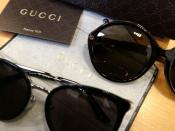 GUCCI/グッチからアレッサンドロ・ミケーレデザインのサングラスが2点入荷!