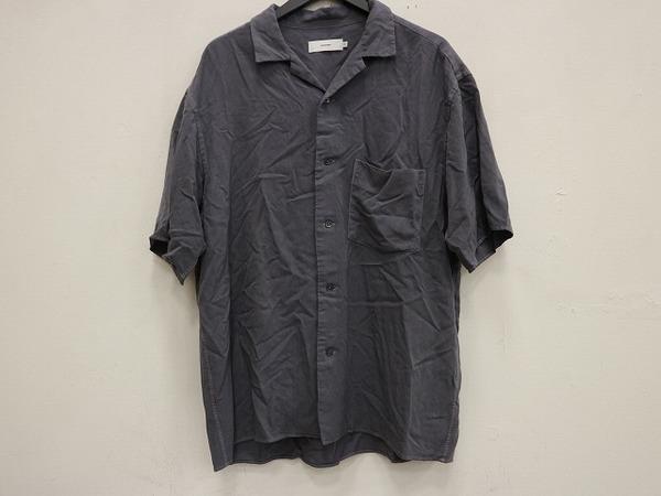 Graphpaper/グラフペーパーからオープンカラーシャツ入荷です。