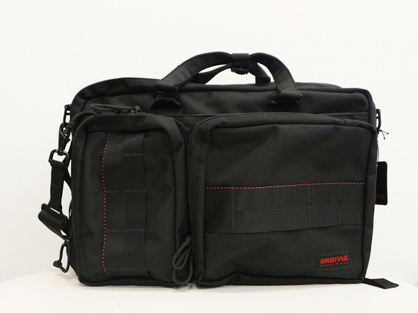 BRIEFING/ブリーフィングから 3WAYバッグをご紹介致します。