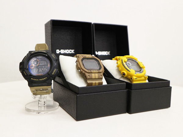 本日は人気定番腕時計 CASIO/カシオからG-SHOCK/ジーショックをまとめてご紹介。