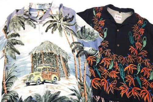 アロハシャツの夏物セール