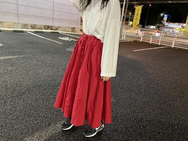スカートの与野