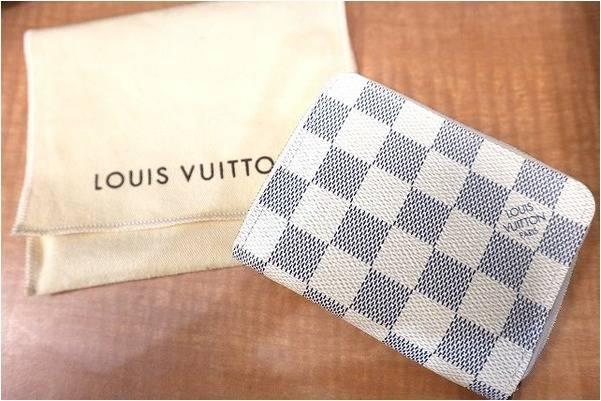 LOUIS VUITTON/ヴィトン、ダミエ・アズール財布の入荷です!【古着買取トレファクスタイル与野店ブログ】