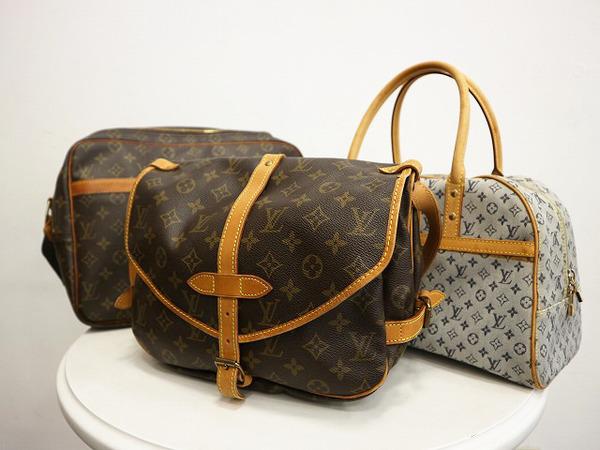 LOUIS VUITTON/ルイヴィトンが大量入荷致しましたので本日は モノグラムのバッグを3点ご紹介致します。