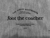 foot the coacher MENDEL 未使用品入荷です【トレファクスタイル千歳船橋】