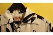 完売のJAPAN製アロハシャツ。Aloha Blossom/アロハブロッサム 'HELLS'/White入荷です。