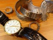 ただいまメンズ小物アイテムを買取大募集しております!時計、シルバーアクセサリーぜひお売り下さい!!