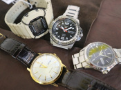 CASIO・SEIKO・CITIZEN・・・定番腕時計ブランドお売りください!!