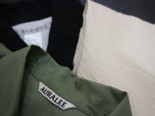 EEL/イール、AURALEE/オーラリー、STUDIO NICHOLSON/スタジオニコルソンなど…新商品続々入荷中!!
