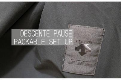 「DESCENTE PAUSE/デザントポーズのAURALEE 」