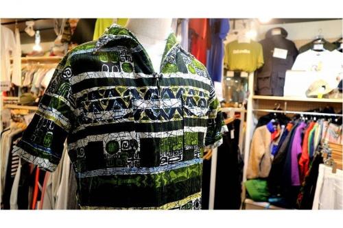 ヴィンテージアイテムのアロハシャツ