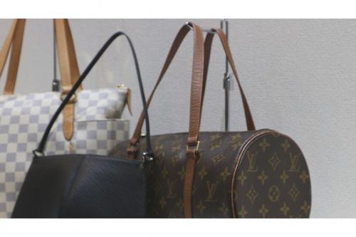 ルイヴィトンのレディースバッグ買取強化中