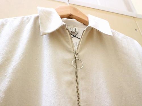 ZIPPER  DRESS/ジッパードレスのレディース夏物買取強化