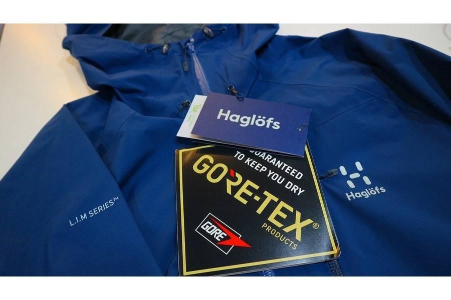 HaglofsのGORE-TEXシェルが入荷。アウトドア、オールシーズンで大募集中です。
