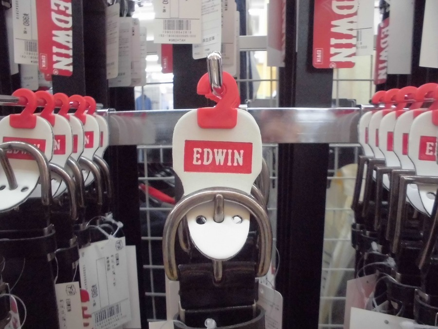 EDWIN(エドウィン)の未使用品ベルトがたくさんっ!?