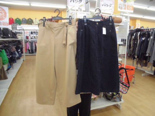 パンツのスカート