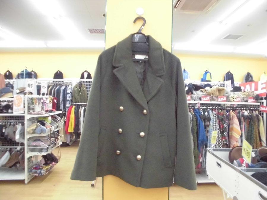 コートの半額セール