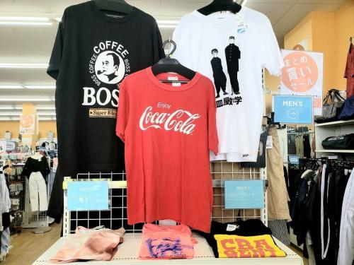 Tシャツのリサイクルショップ