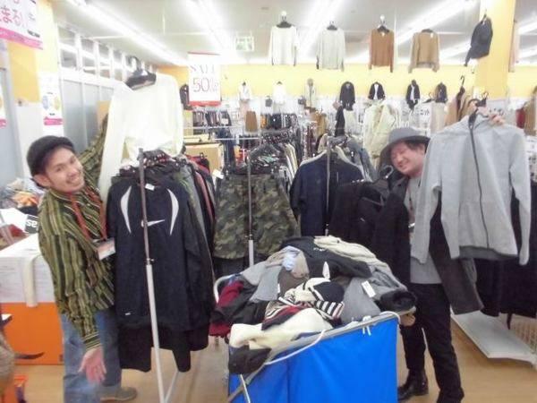 土曜日に向けて新商品の入荷がMAX頑張りました! セール商品も大幅追加です♪ -久喜の激安古着屋-【ユーズレット久喜店】