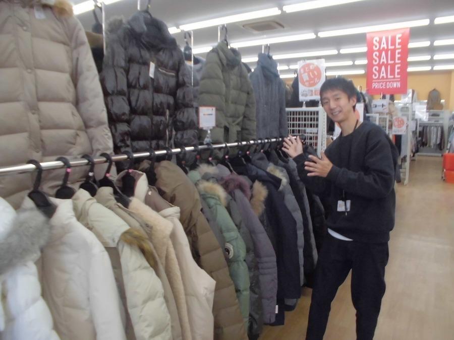 今が買い時!!在庫豊富なコートやジャケットが今が一番見ごろです!!