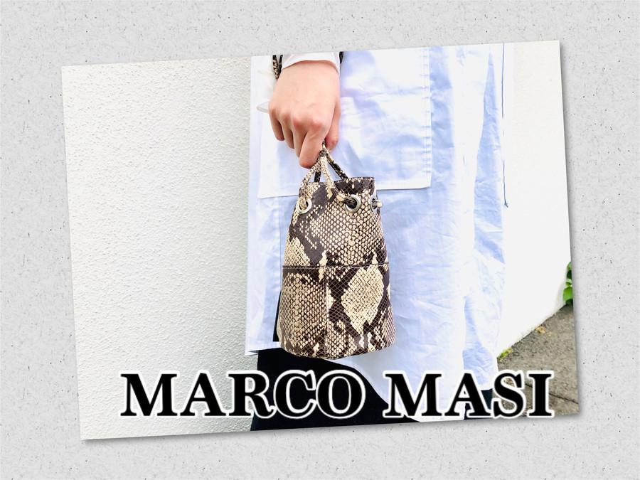 「インポートブランドのMARCO MASI 」