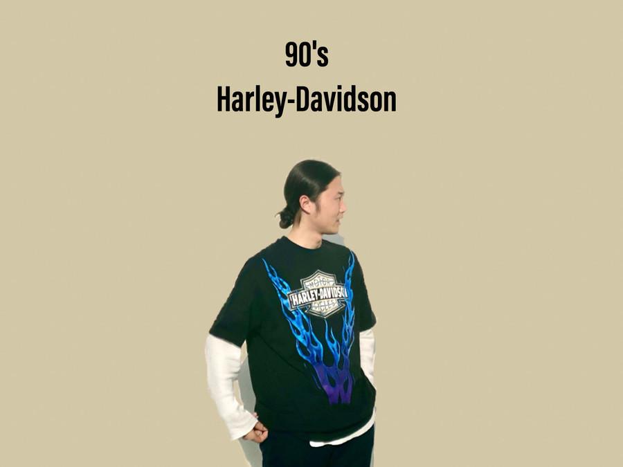 「ヴィンテージアイテムのHARLEY-DAVIDSON 」