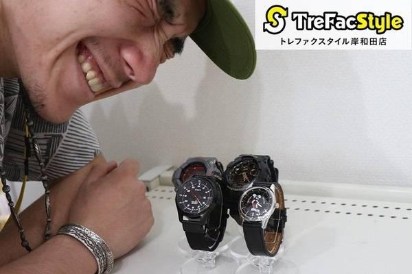 薄着になる今だからこその「1点豪華主義」。素敵な腕時計取り揃えております!【古着 買取 トレファクスタイル岸和田店】