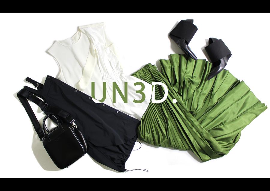 【常識に囚われないモード系ブランド】UN3D.(アンスリード)